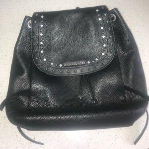 Michael Kors Riley Leather Backback